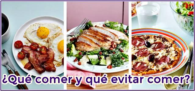 Recomendaciones para comer rico y sano