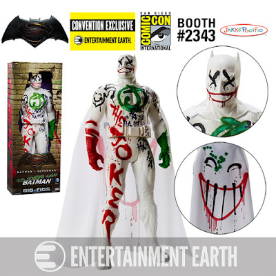 "San Diego Comic-Con 2016 Exclusive Batman v Superman: Dawn of Justice ""The Joker's Wild"" Batman 19"" Big Figs Action Figure by Jakks Pacific"