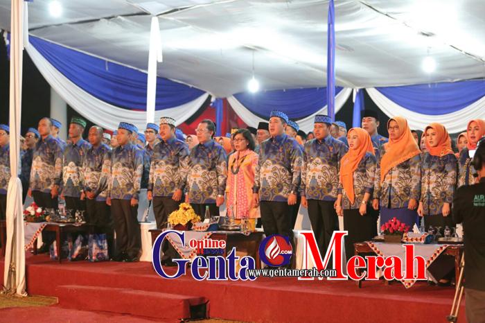 Semarak HUT-11 Kabupaten Pesawaran, Dendi : Pesawaran Mampu Bersaing Lebih Maju
