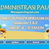 Program Semester (Prosem/Promes) PAUD/TK Kurikulum 2013 Usia 4-5 Tahun Semester 1 dan 2
