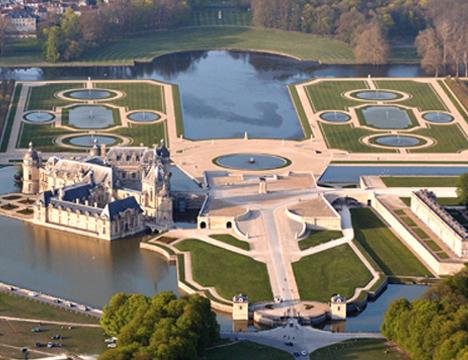 Association ch et t lieu d 39 exposition une visite au for Chantilly photo