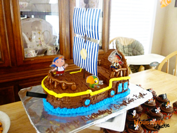 Jake and The Neverland Pirates Birthday Party Housewife Eclectic