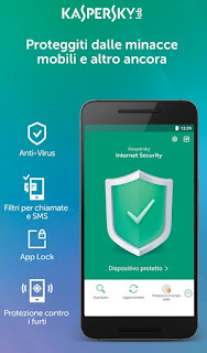 app Kaspersky Internet Security per Android