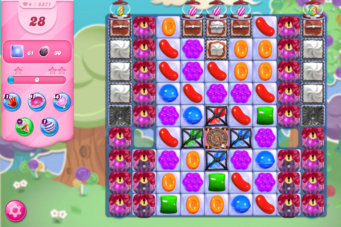 Candy Crush Saga level 5371