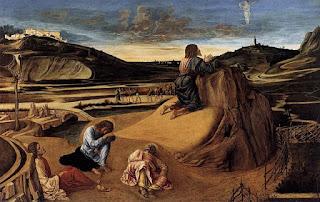 ベッリーニ、ゲッセマネの祈り、ナショナル・ギャラリー・ロンドン