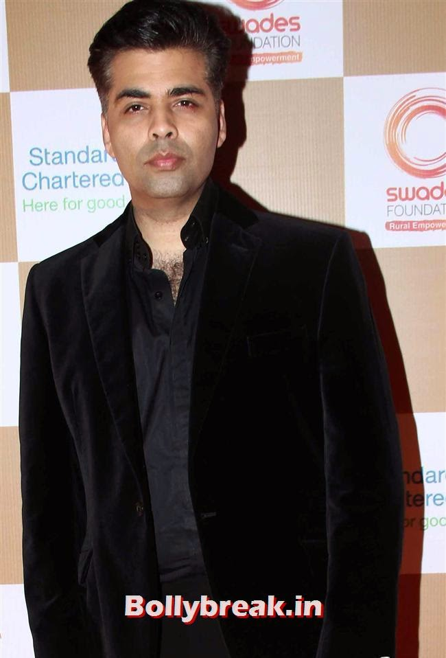 Karan Johar, Sonakshi Sinha, Shilpa Shetty at Swades Foundation Fundraiser