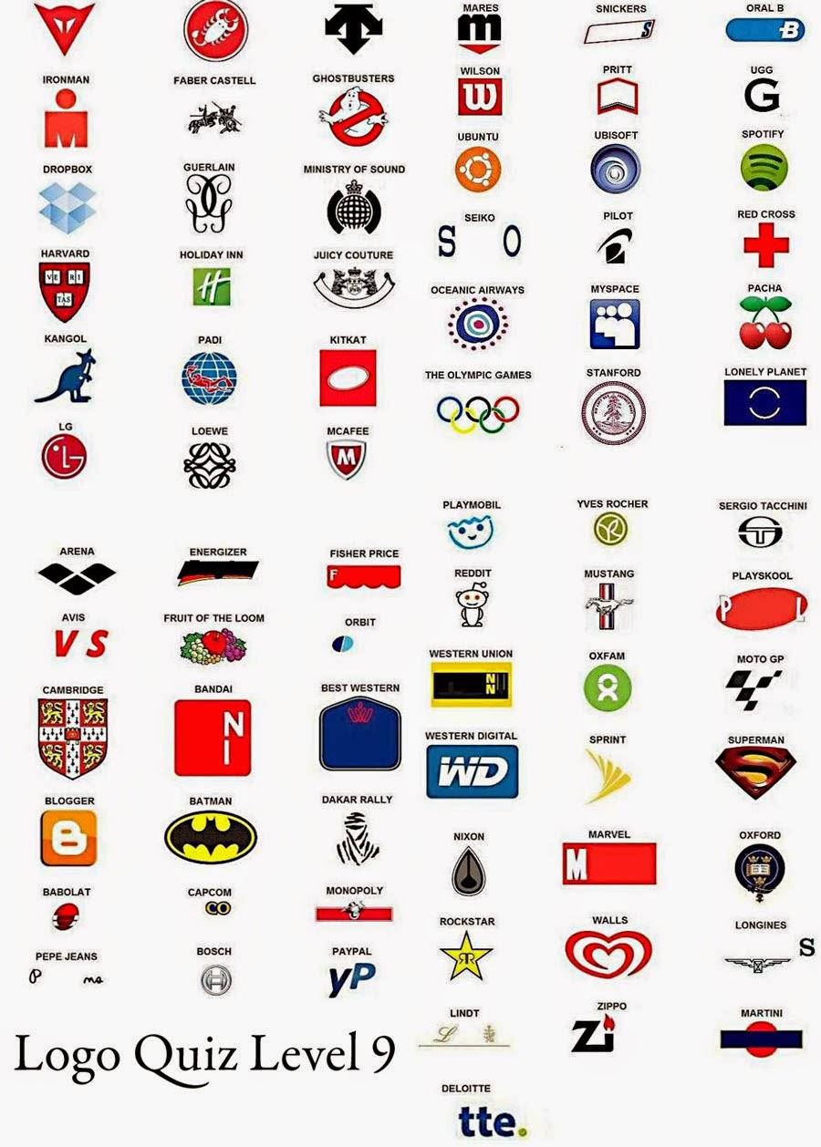 100 Pics Logos Answers | 100 Pics Answers