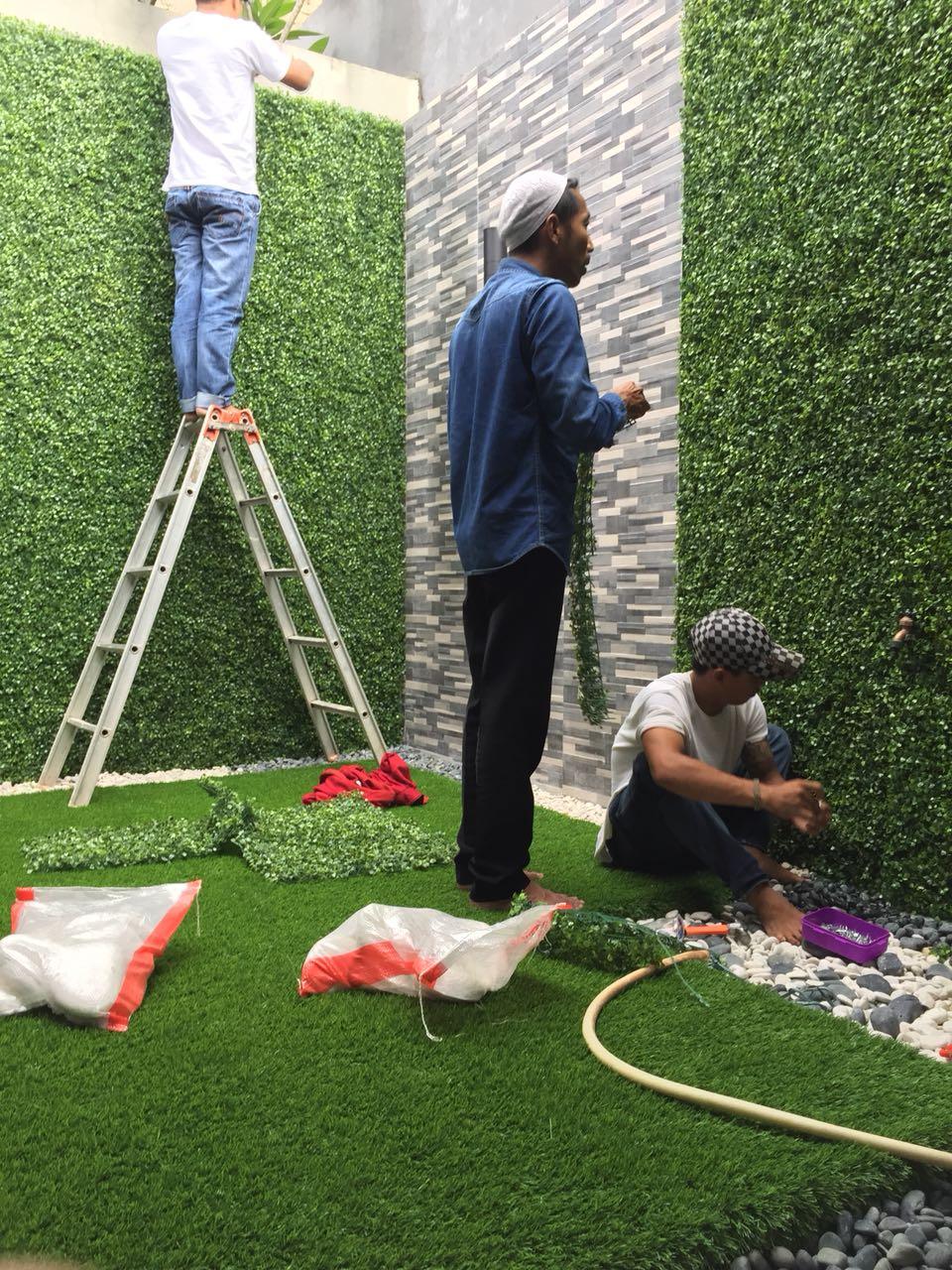 Jual Rumput Dan Tanaman Sintetis Untuk Dinding Juragansintetis