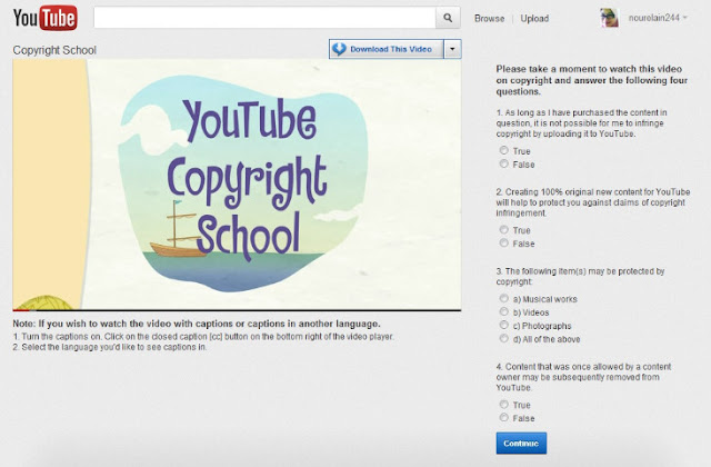 100 Questions and Answers of YouTube Copyright School – 2017