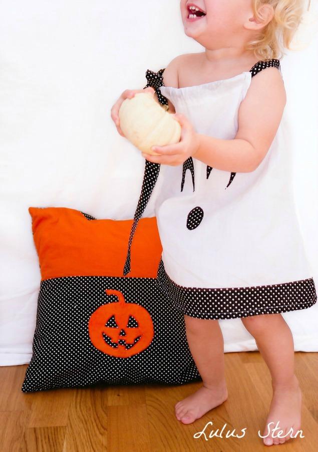 Halloween Gespenst Mädchen