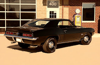 1969 Chevrolet Camaro COPO Clone Rear Right