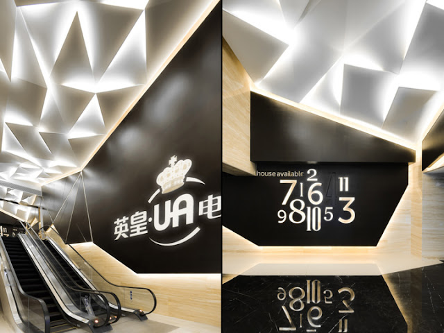 Anyone would feel like a movie star walking into their Emperor UA Cinema - City Lighting Products