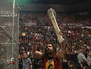 WWE / WWF No Way Out 2000 - Mick Foley faced Triple H inside Hell in a Cell
