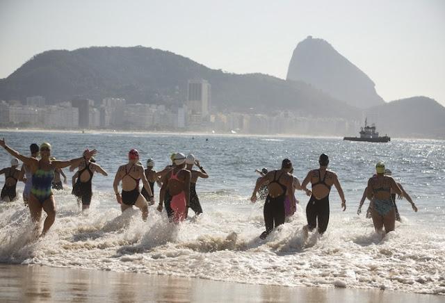 Maratona aquática, Copacabana Jogos Rio 2016