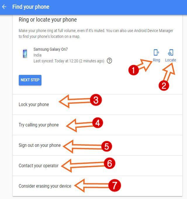Find My Device - खोये Phone का पता कैसे करें की फ़ोन कहाँ है