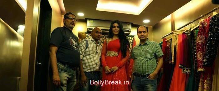 Gagan Kumar, Koena Mitra, Koena Mitra Hot HD Images At KCouture Fashion Store Launch