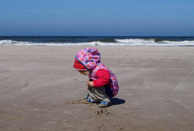 Aus unserem Dänemark-Urlaub: Wunderschöne Ausflugsziele rund um Houstrup. Teil 1: Strände, Häfen und einzigartige Natur. Hier: Börsmose Strand.