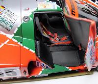 AUTOart 1991 Le Mans Winner Mazda 787b interior