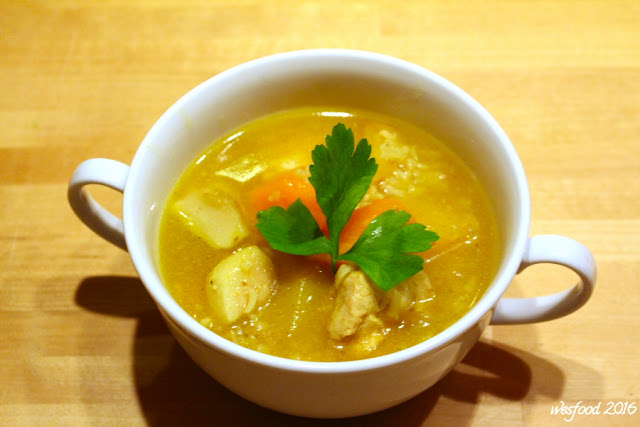 wesfood mulligatawny suppe mit huhn the same procedure as every year james. Black Bedroom Furniture Sets. Home Design Ideas