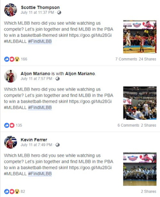 Mobile Legends Enters the World of Philippine Basketball Games : Mobile Legends Enters the World of Philippine Basketball