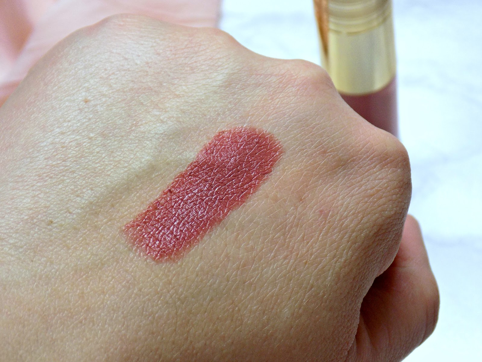 Tarte the lip sculptor lipstick & lipgloss in shade Kind