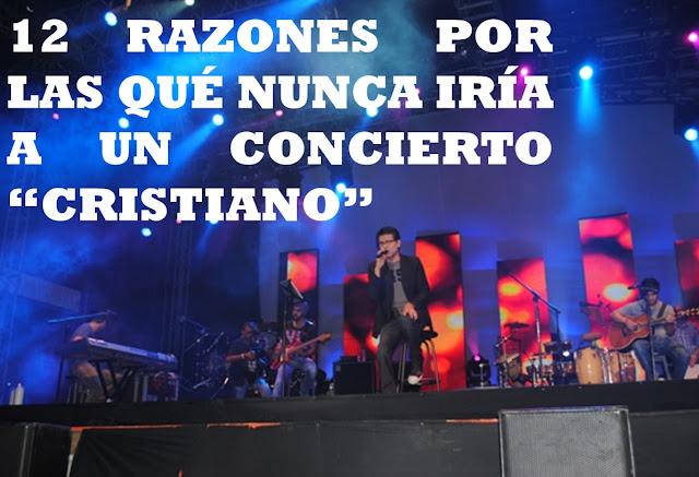 """¿Porque nunca iría a un concierto """"cristiano""""? – Miguel Rodriguez"""