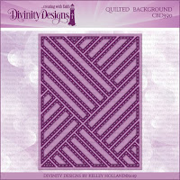 Divinity Designs LLC Custom Quilted Background Die