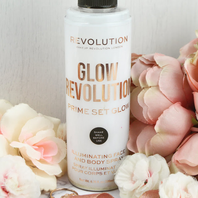 Makeup Revolution Glow Revolution  Illuminating Face & Body Spray, in Eternal Gold Review | Lovelaughslipstick Blog