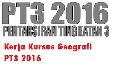 contoh Kerja Kursus Geografi PT3 2016 sistem pengangkutan