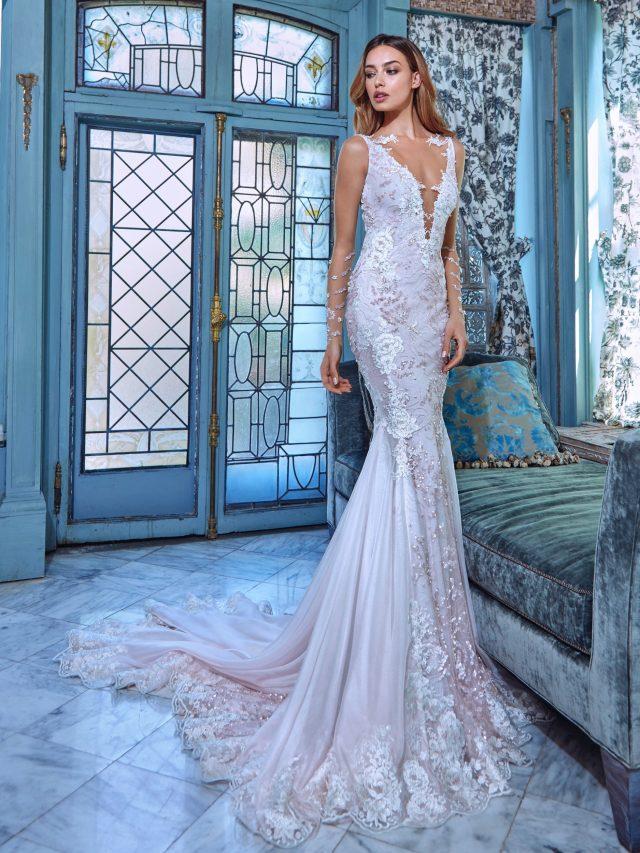 vestido de novia elegante y sensual