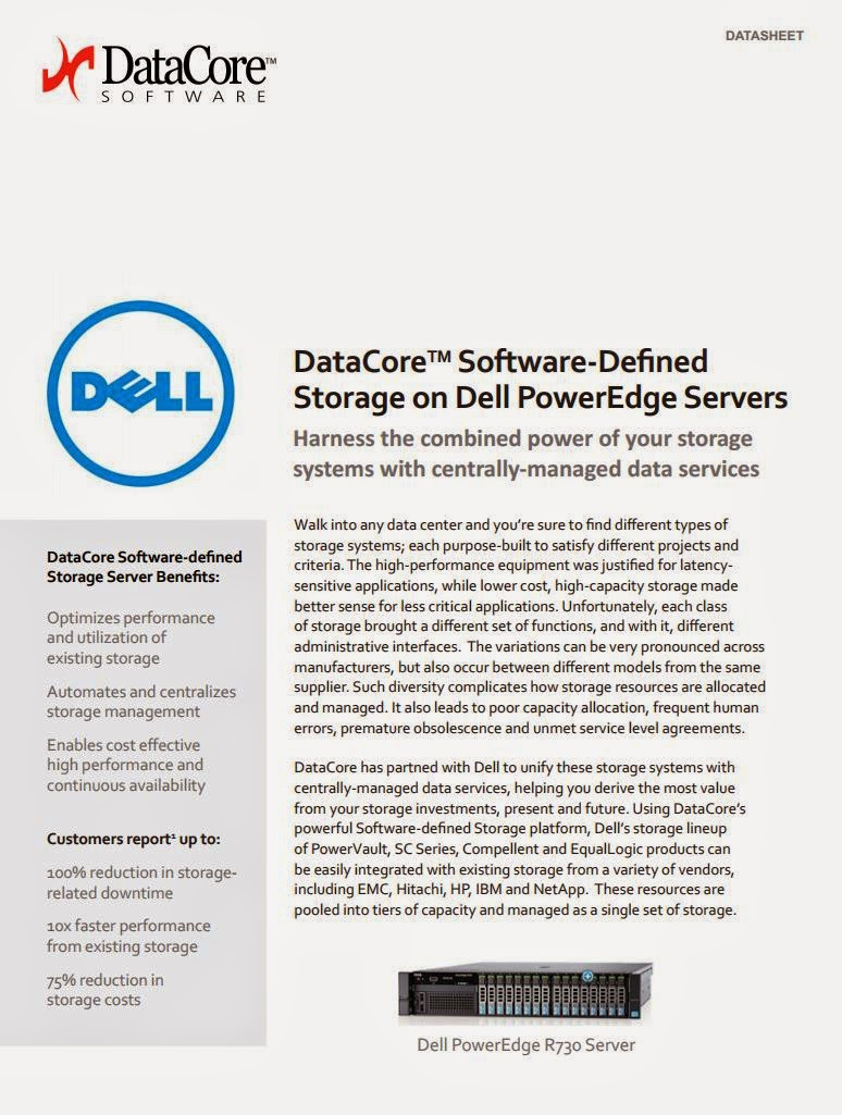 eWeek: DataCore Ready Software Defined Storage Servers Running on Dell PowerEdge Debut