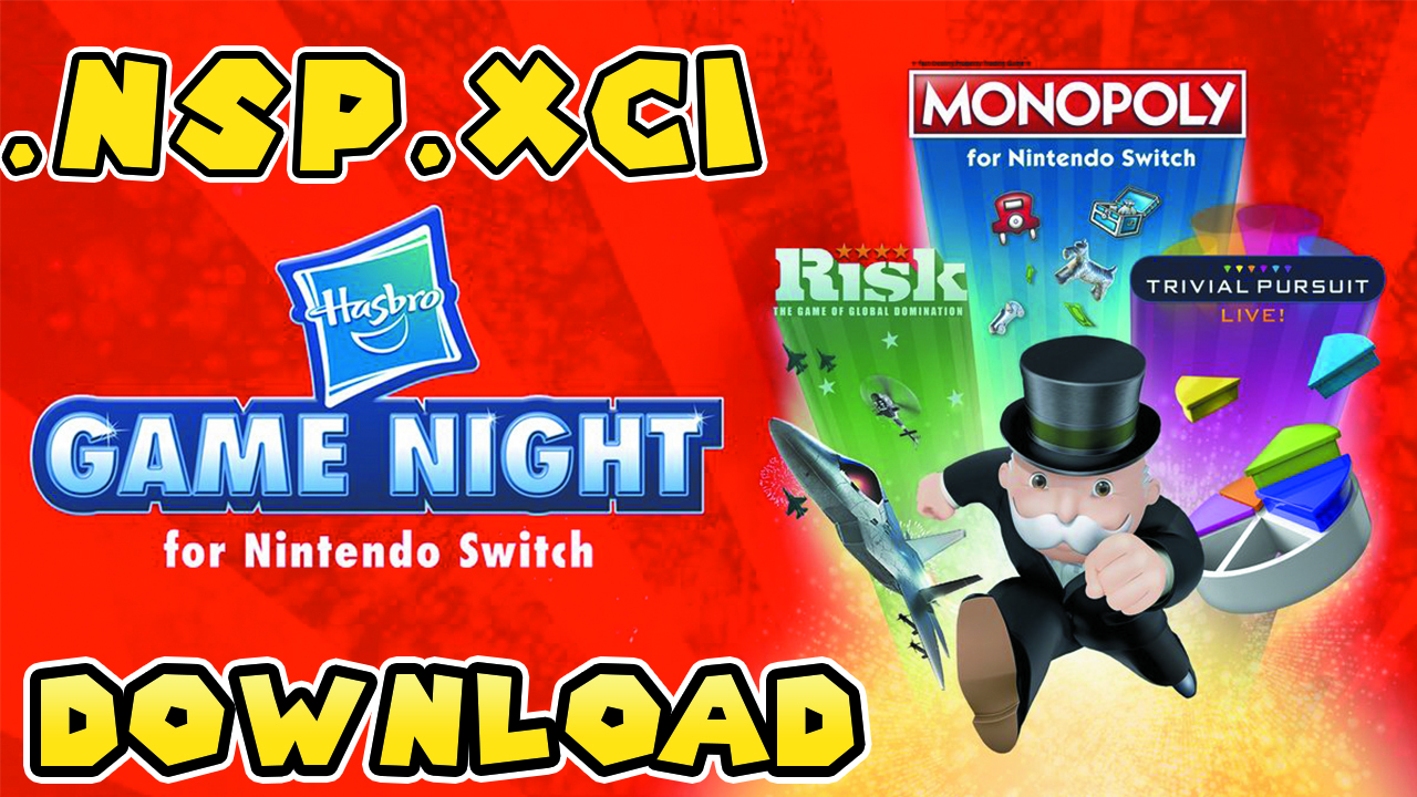 Download Descargar] Hasbro Game Night Pour Switch NSP XCI