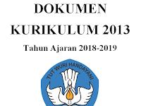 Contoh Format Dokumen 1 Kurikulum 2013 SD/MI Tahun Ajaran 2018/2019