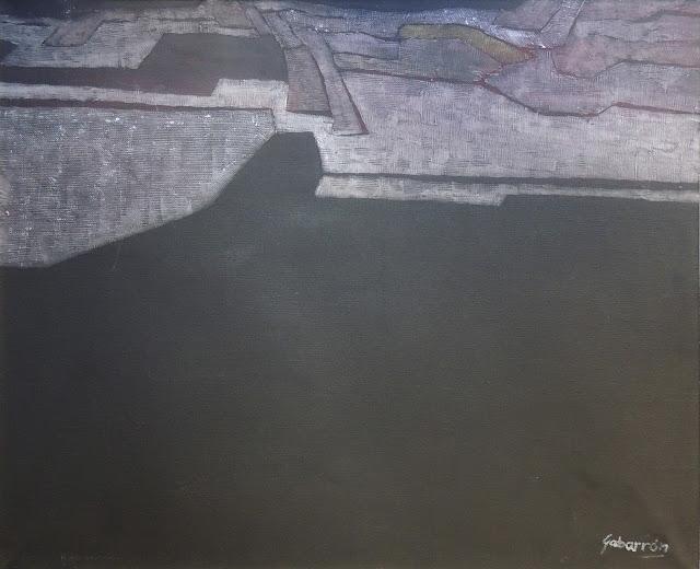 Cristóbal Gabarrón arte cuadro abstracto paisaje