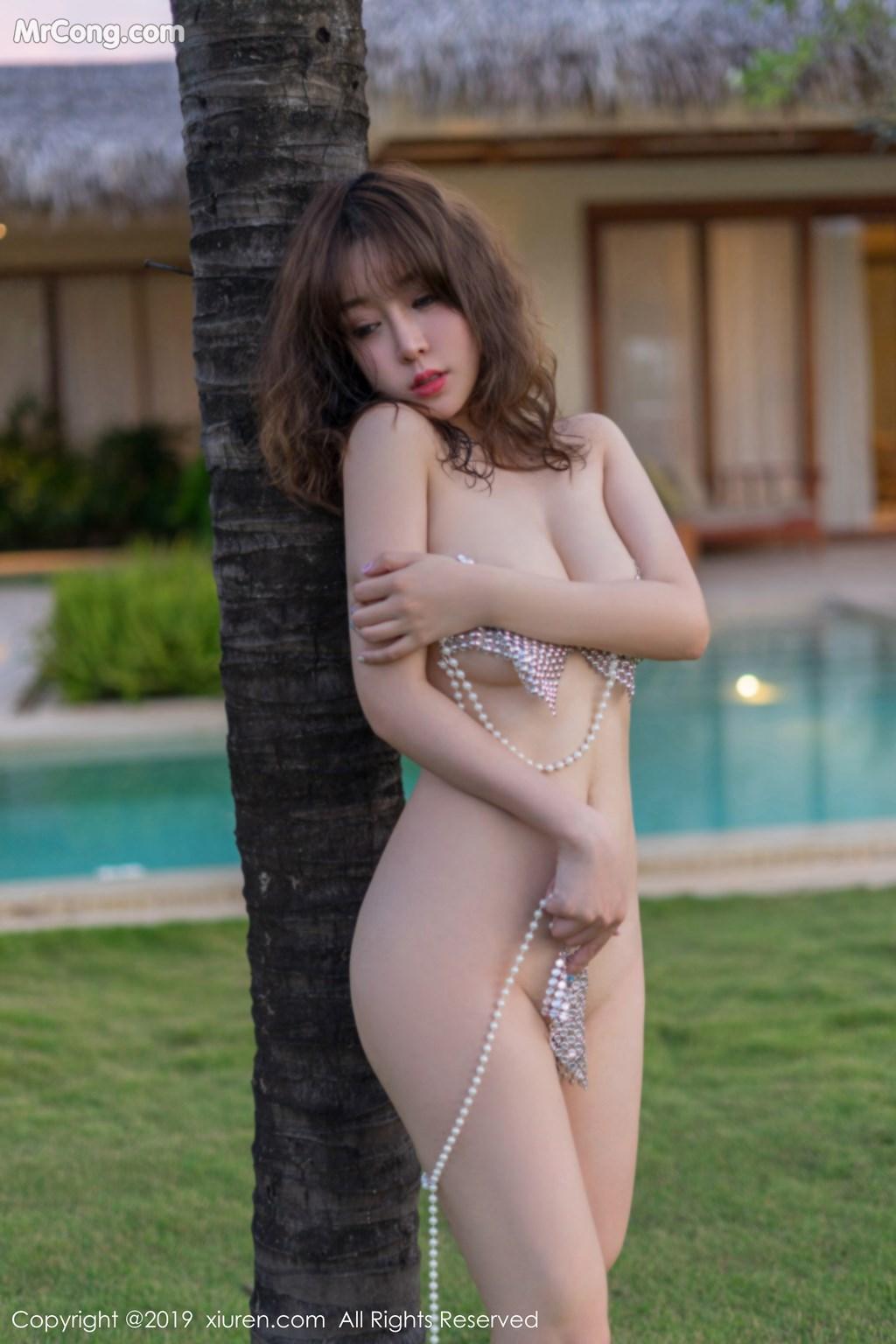 Image XIUREN-No.1470-Wang-Yu-Chun-MrCong.com-035 in post XIUREN No.1470: Wang Yu Chun (王雨纯) (47 ảnh)