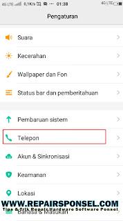 Memunculkan T-Sel MENU Vivo Smartphone