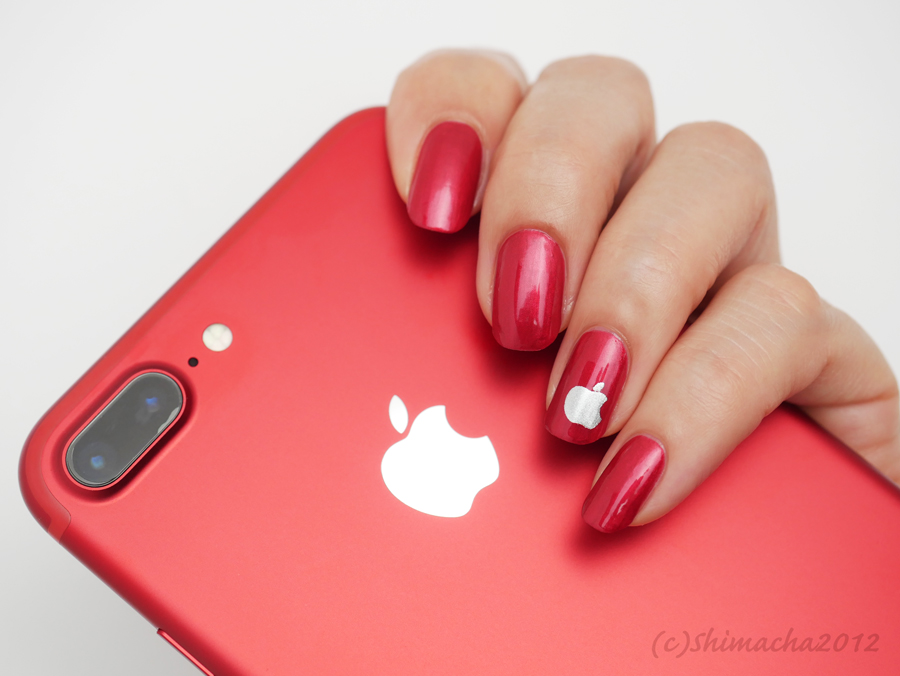 iPhone (PRODUCT)RED Nails | Shimacha2012 Nails