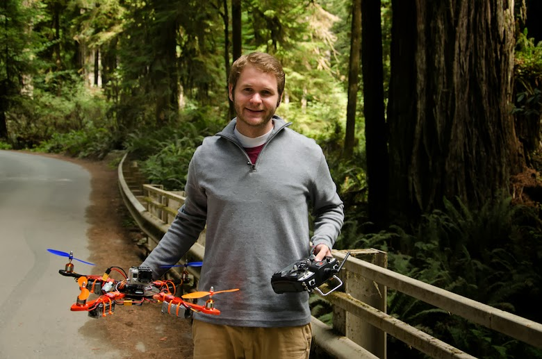 California Redwoods RC flying