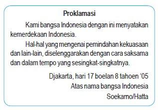 Cerita Kronologi Proklamasi Kemerdekaan Indonesia