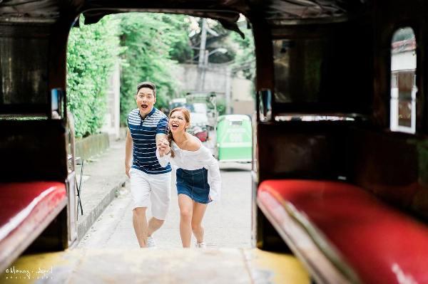 Alden Richards and Maine Mendoza's pre-nuptial photos
