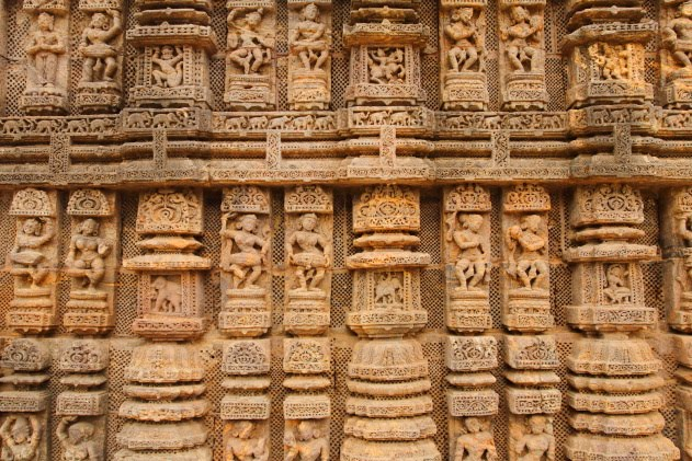 The apsaras of Konark Sun Temple, Odisha