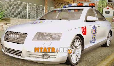 Audi A6 Turkish Police