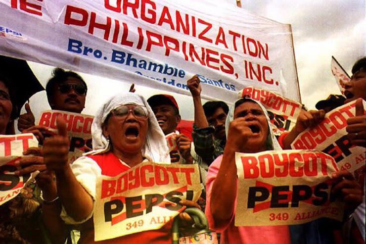 Конкурс Pepsi на Филиппинах - Основные маркетинговые провалы