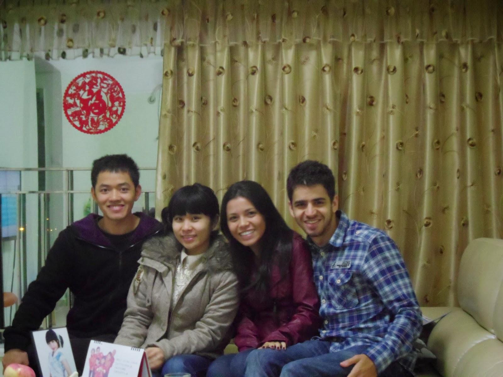 Amigos chineses