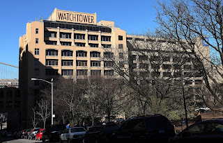 The previous Jehovah's Witnesses World Headquarters in Brooklyn, New York on April 15, 2016.