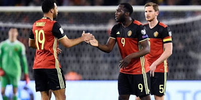 Live Streaming Belgia vs Tunisia