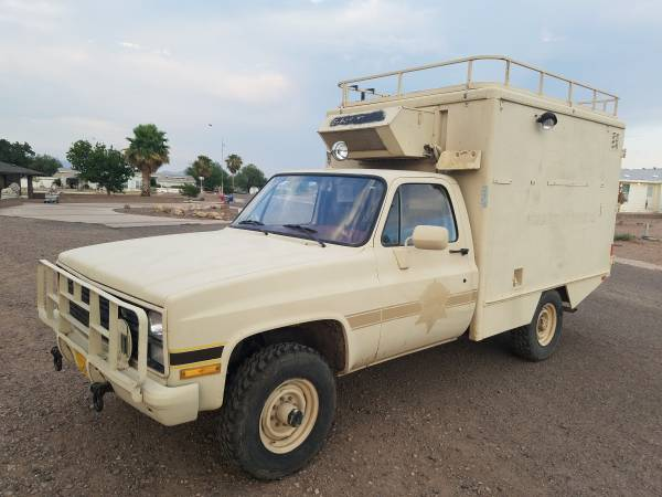 1985 Chevy M1010 4x4 Military Ambulance