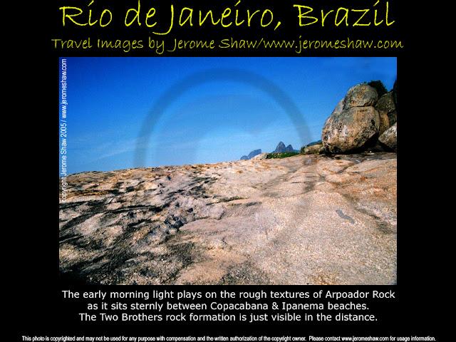 Arpoador Rock, Rio de Janeiro, Brazil