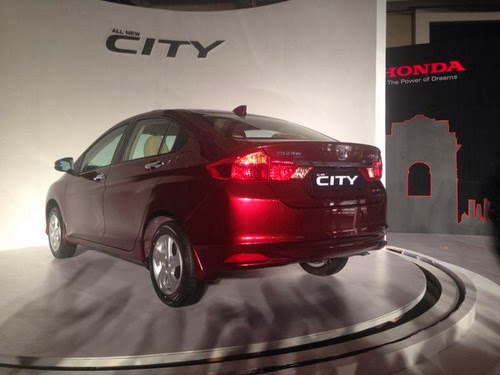 New Honda City 2014