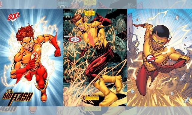 macam-macam Kid Flash DC dari generasi ke generasi!